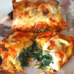 Gluten Free Eggplant Lasagna Roll Ups
