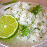 "Gluten Free Cilantro Lime Rice ""Chipotle Copycat"" recipe"