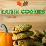 Gluten Free Pumpkin Raisin Cookies