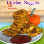 Gluten Free Cauliflower Chicken Nuggets with Pumpkin