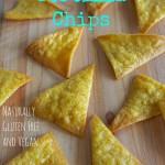 Gluten Free Corn Tortilla Chips (baked)