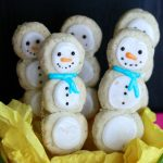 Snowman Cookie Pops (Gluten Free and Vegan)