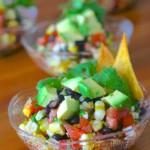 Gluten Free Black Bean Corn Salsa Salad