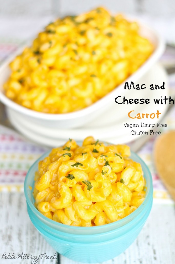 Skinny Dairy Free Mac and Cheese Recipe (gluten free vegan) Super creamy and healthy without any cheese but veggies instead!Vegan