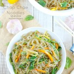 Korean Glass Noodle Stir Fry (Chap Chae)