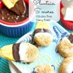 Baked Plantain S'mores