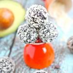 Chocolate Avocado Truffle Bliss Balls and Ninja Giveaway