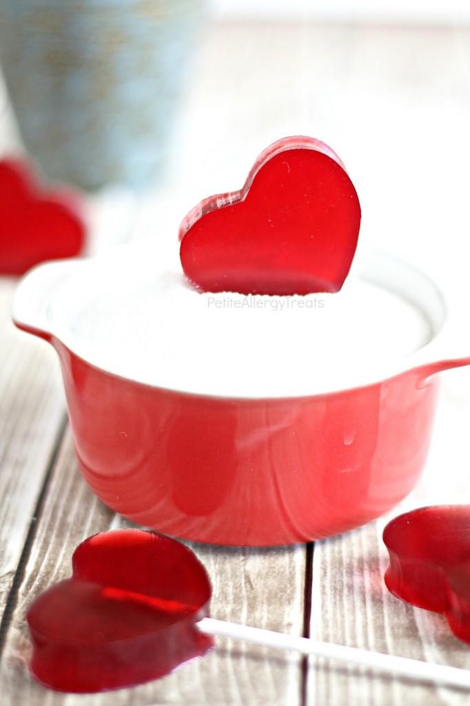 Healthy Natural Fruit Gummy Lollipops - Petite Allergy Treats