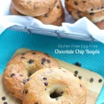 Chocolate Chip Bagels (Egg Free Gluten Free Vegan)