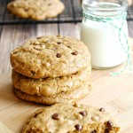 Best Darn Gluten Free Chocolate Chip Cookies (Vegan egg free dairy free)