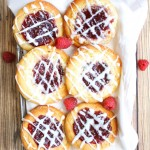 Raspberry Cheese Danish (gluten free egg free dairy free option)