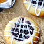Gluten Free Blueberry Danish (egg free dairy free)