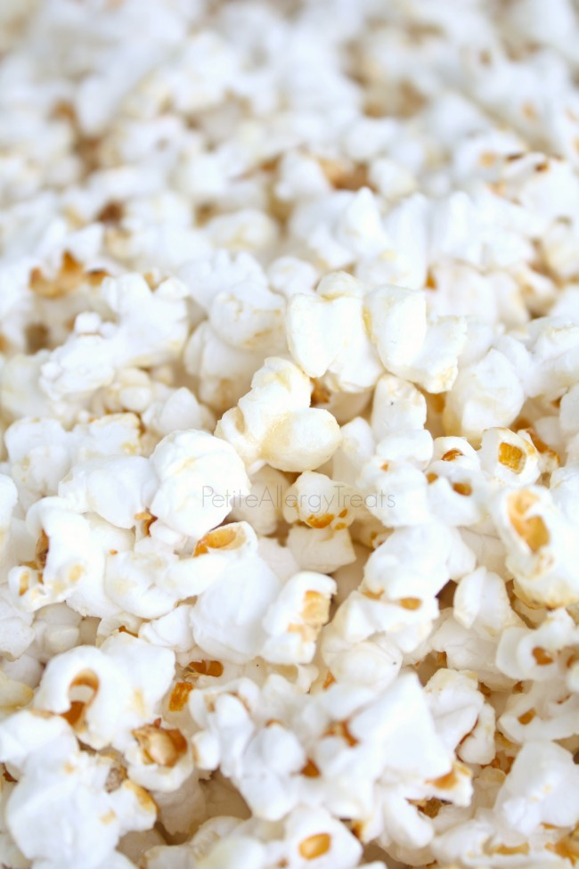 Kettle Corn- Sweet and salty make this gluten free vegan snack irresistible.
