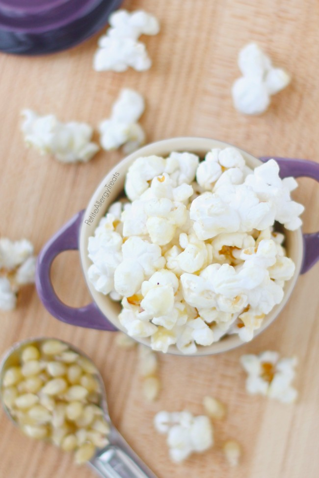 Easy Kettle Corn- Sweet and salty make this gluten free vegan snack irresistible.