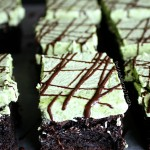Mint Chocolate Brownies (gluten free Vegan)