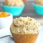 Pumpkin Streusel Muffins (gluten free Vegan)