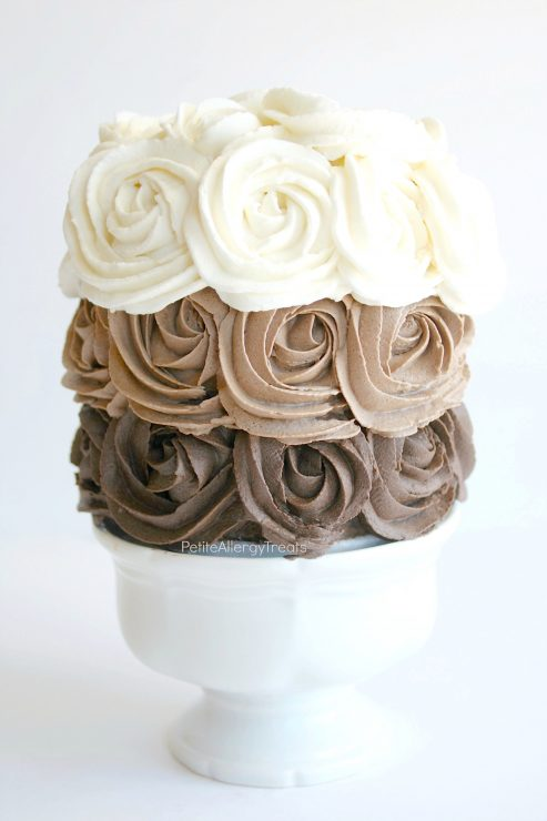 Chocolate Rose Cake 1