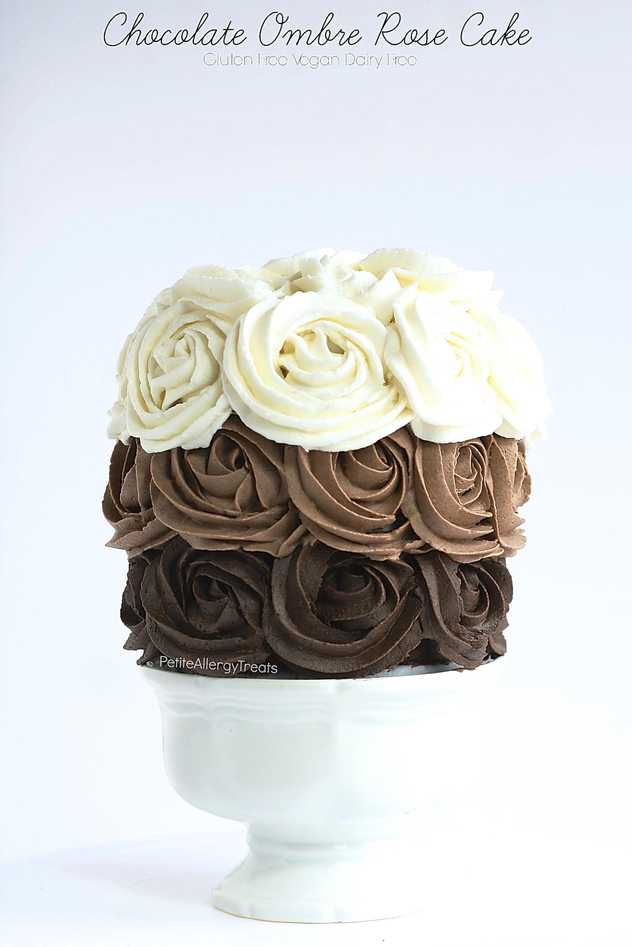 Gluten Free Vegan Chocolate Cake Dairy Free Petite Allergy Treats