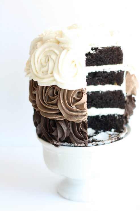 Chocolate Rose Cake 3