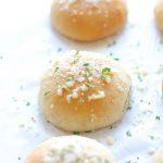 Dairy Free Garlic Parmesan Gluten Free Dinner Rolls