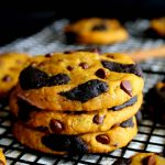 Gluten Free Double Chocolate Chip Pumpkin Cookies