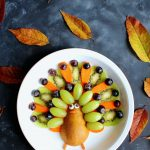 Vegan Turkey Fruit Platter