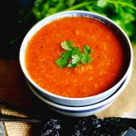 Vegan Tortilla Soup (Gluten Free Dairy Free)