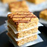 Gluten Free Oatmeal Breakfast Bars (Vegan)