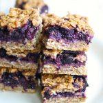 Gluten Free Blueberry Breakfast Oat Bars