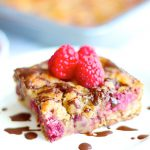 Gluten Free Raspberry Buckle Dump Cake (vegan dairy free)