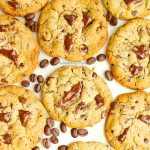 Gluten Free Espresso Chocolate Chip Cookies