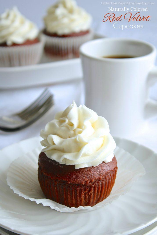 Gluten Free Red Velvet Cupcakes Vegan Dairy Free Petite Allergy