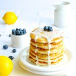 Gluten Free Lemon Chia Seed Pancakes (Vegan)